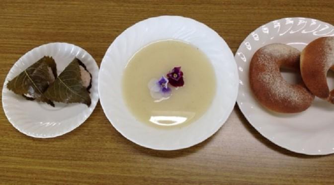 コンプレ(インスタントドライイースト)&桜餅