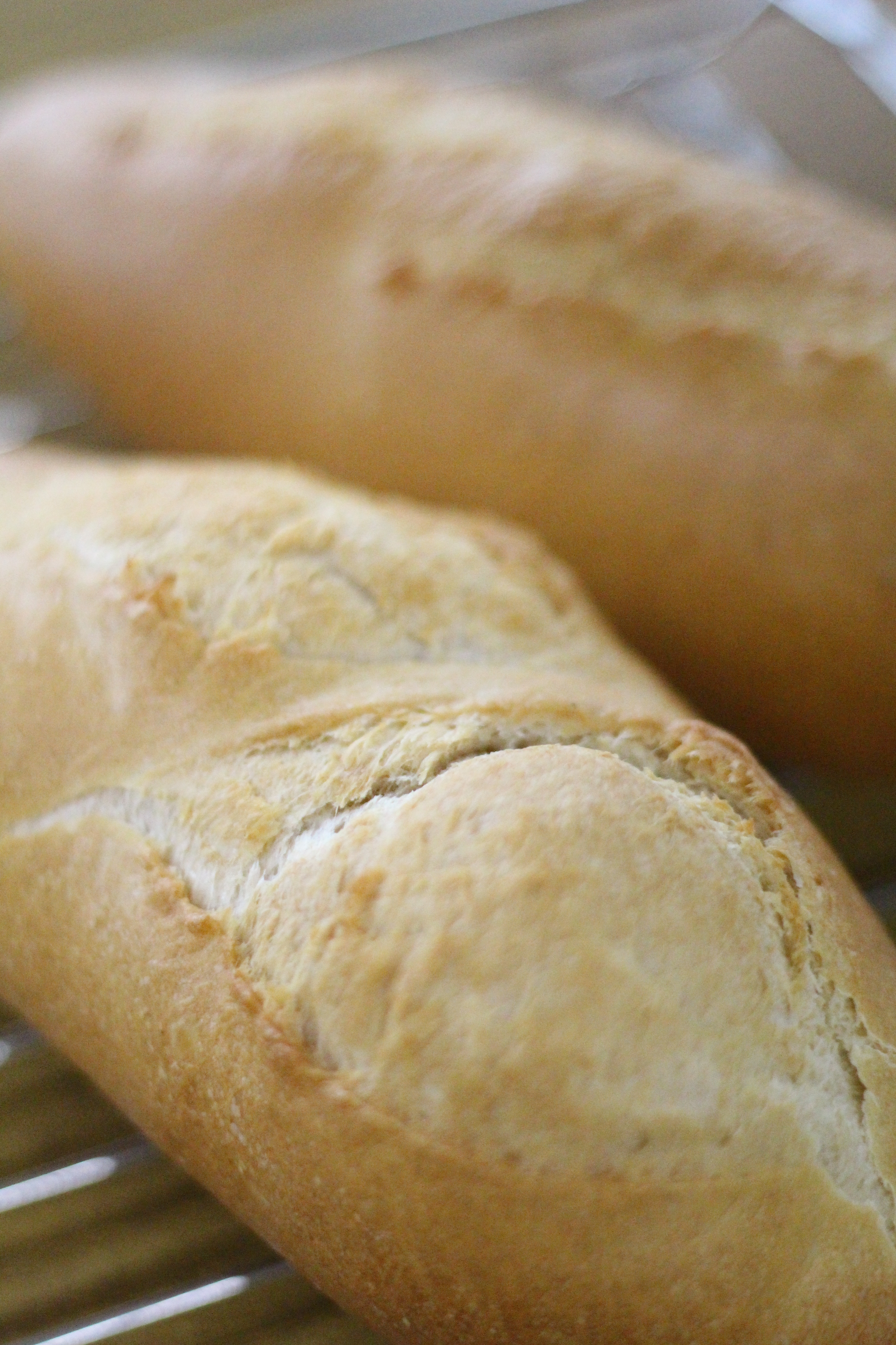 インスタントドライイーストでフランスパン。