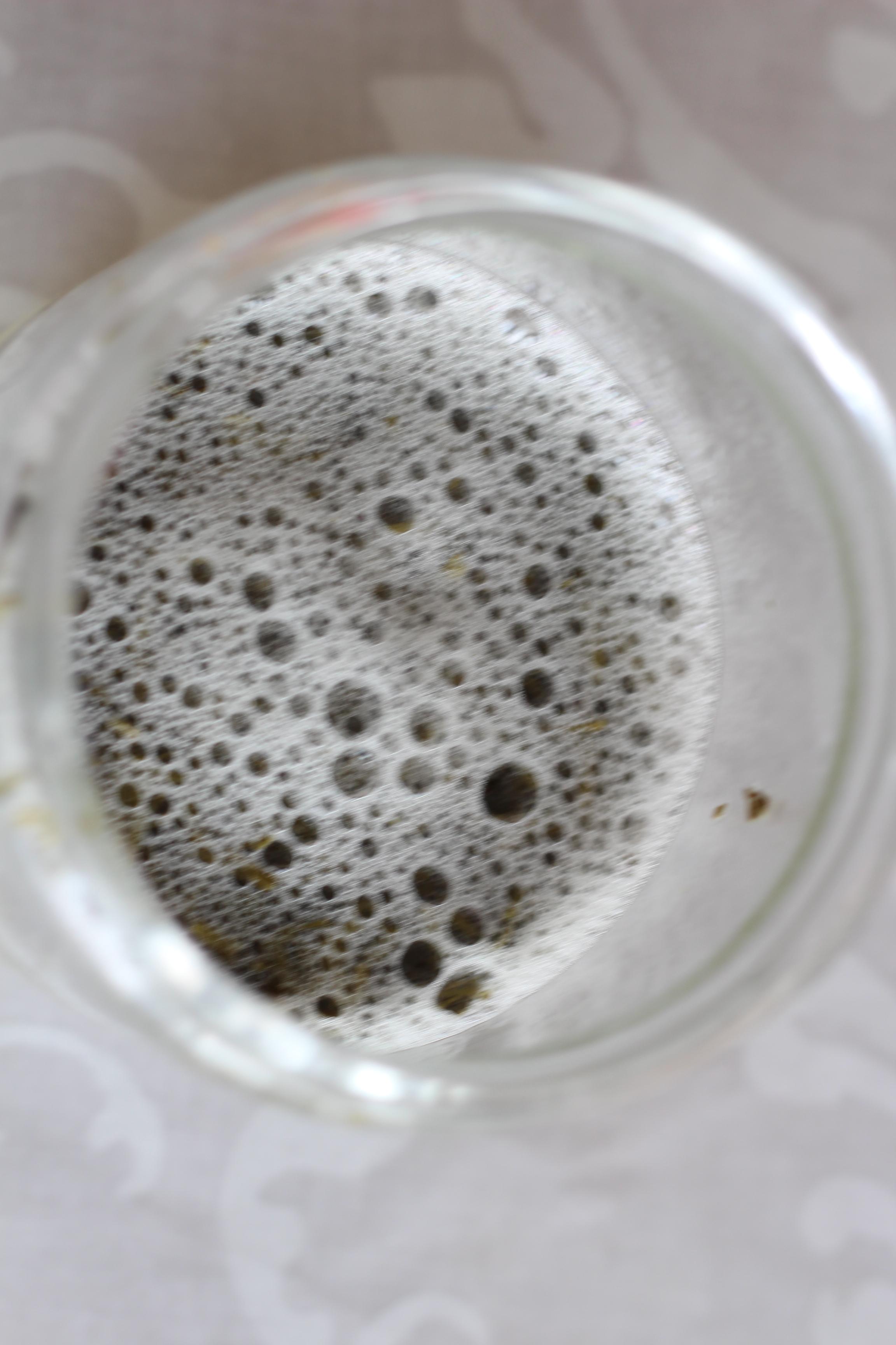 貴福園の茶葉で、自家製酵母作り