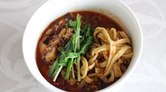 京都江部粉・麺ミックスで『担々麺』
