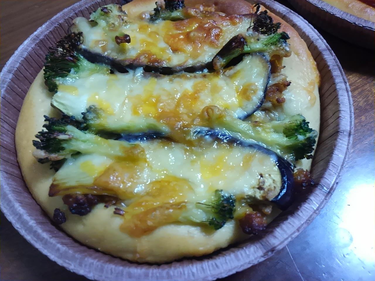 京都江部粉糖質制限ピザ。つくレポ。