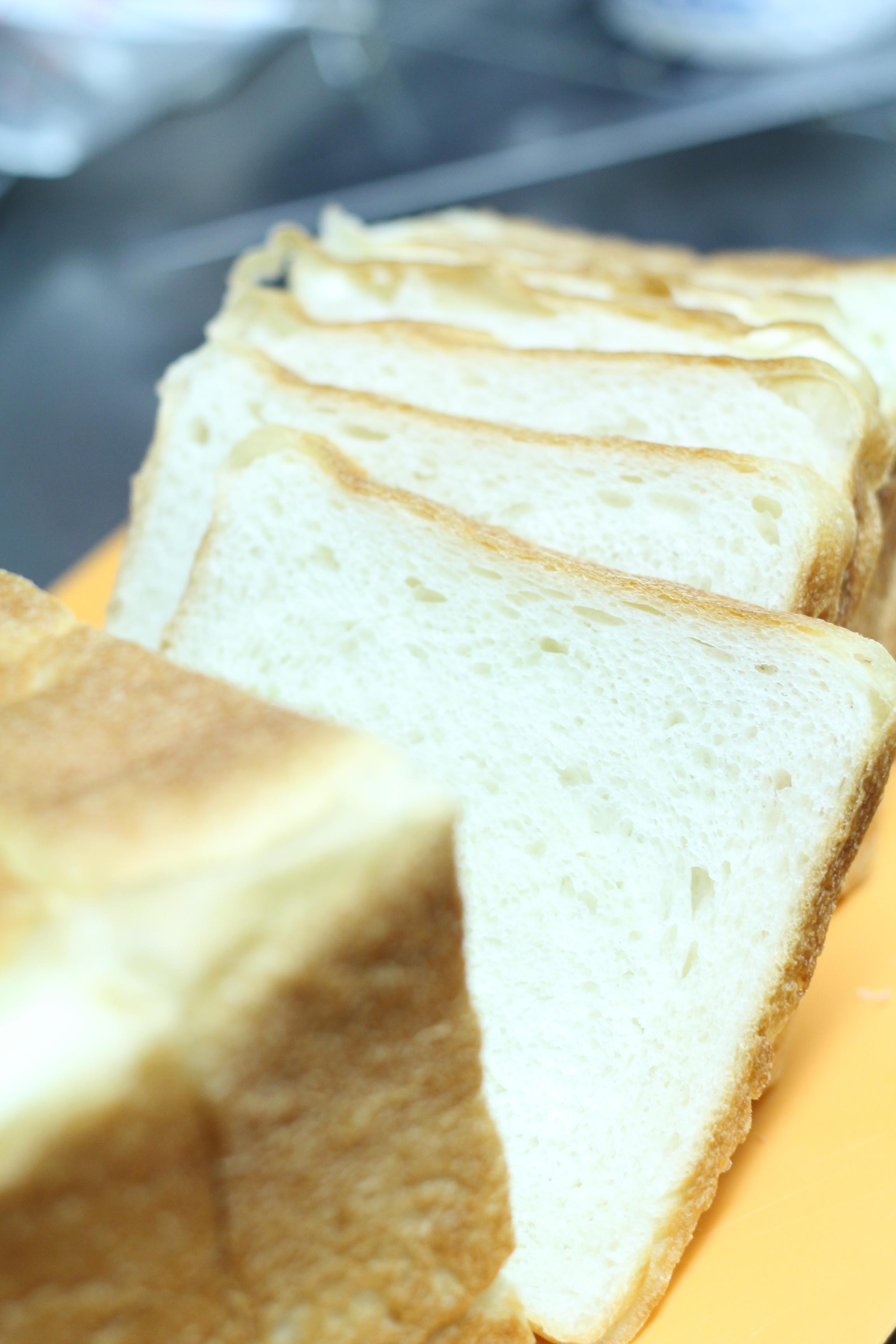 酒種酵母食パンでホッとサンド