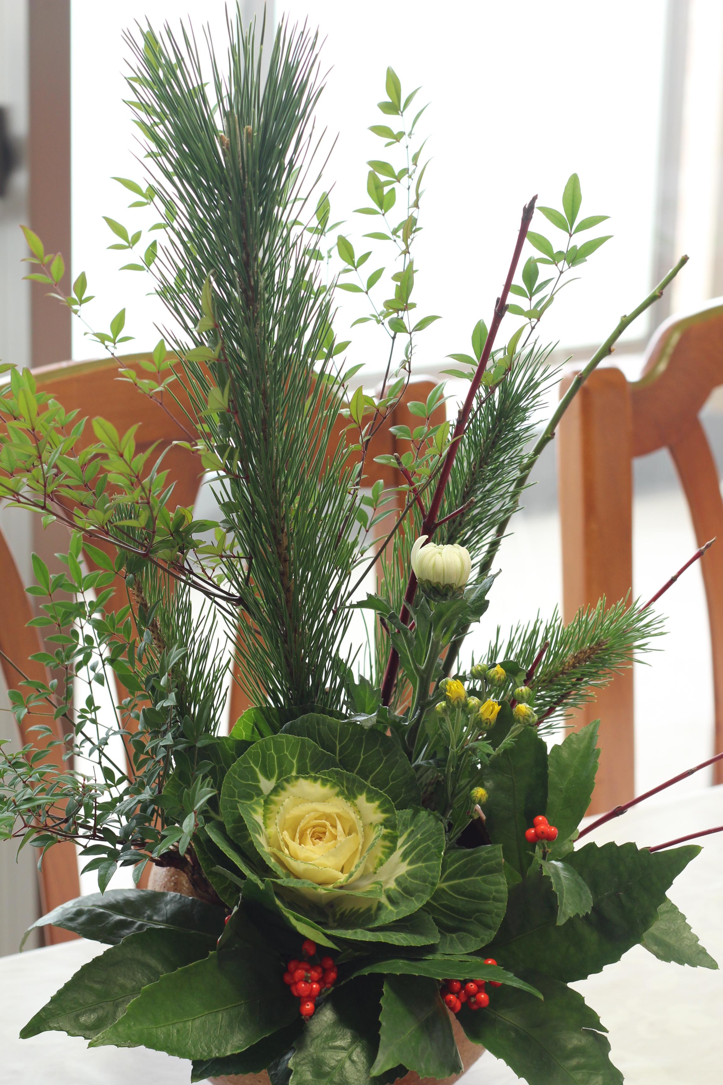 お正月の花 (7)