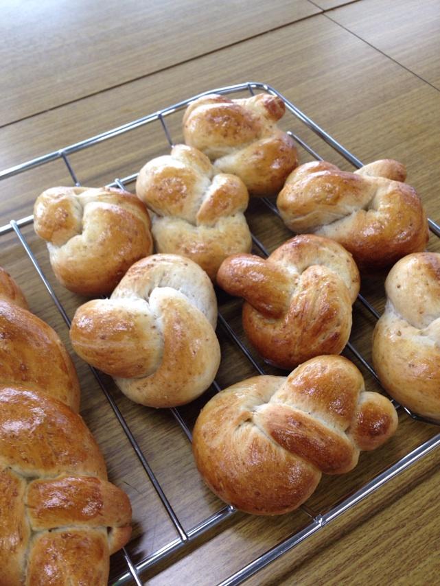 会館でのレッスンごまパン。阿倍野にて