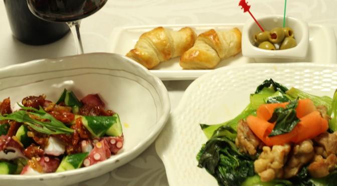 江部粉・クロワッサンとお料理の一時