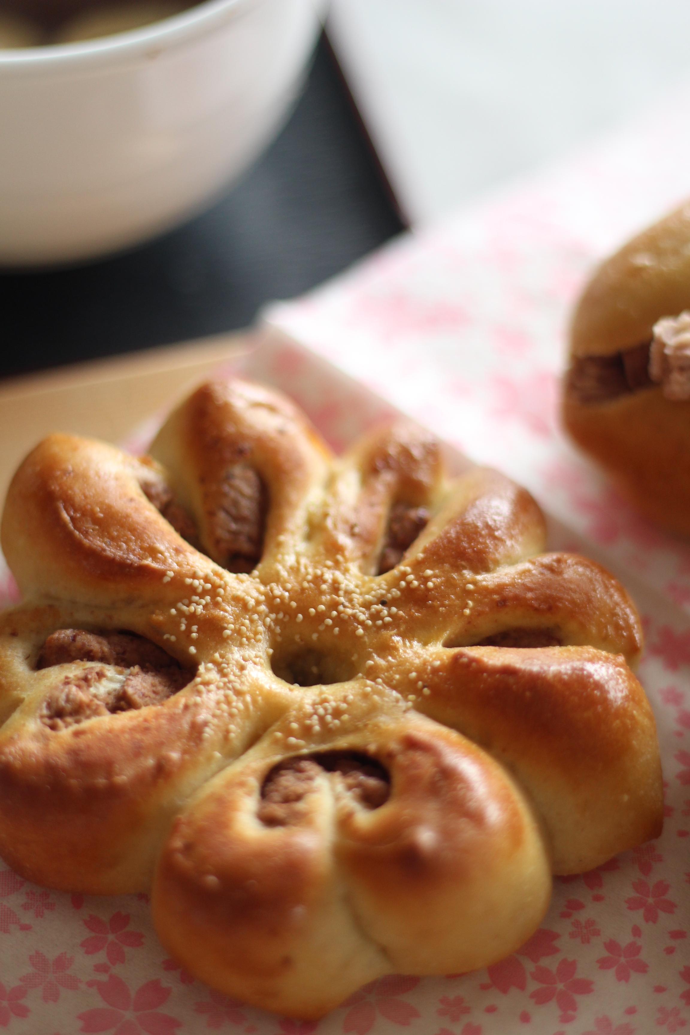 阿倍野区西田辺a-ta-sante糖質制限パン料理教室。京都江部粉を使って餡子から作る糖質制限あんぱんを試作しました。