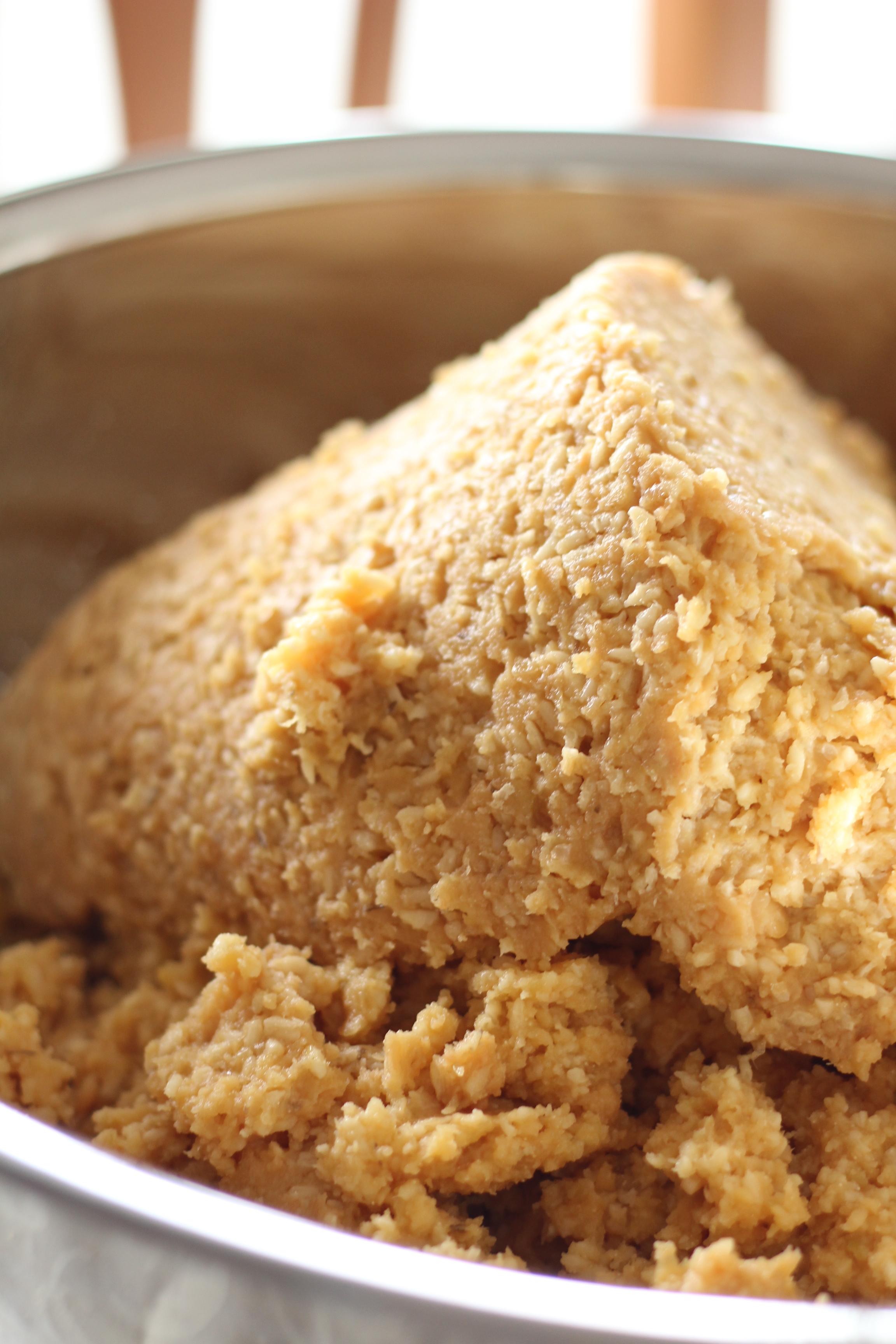 味噌の天地返し、阿倍野区西田辺a-ta-sante 投資制限パン料理教室。