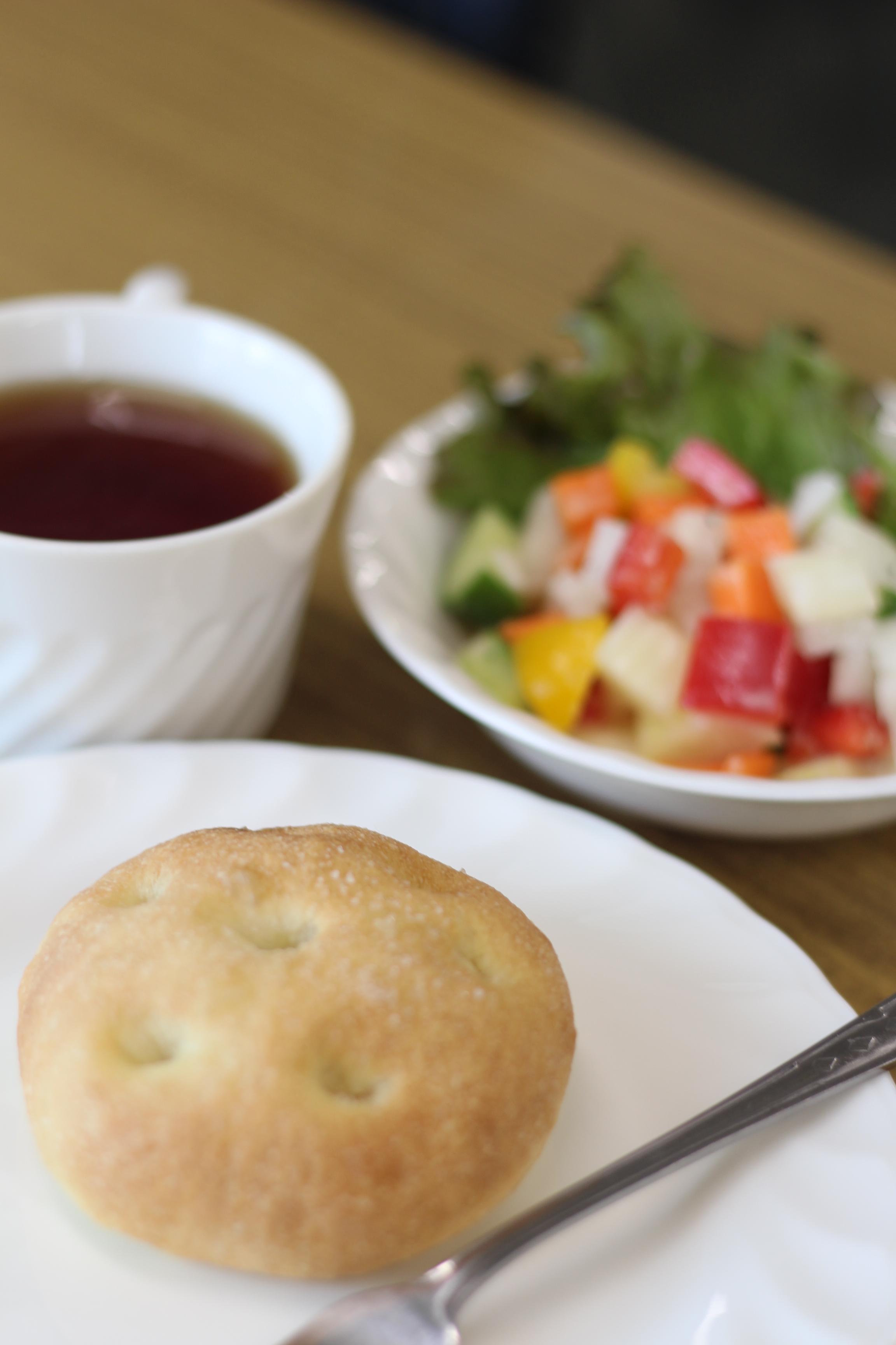 阿倍野区西田辺a-ta-sante糖質制限パン料理教室。会館でのレッスン『もちもちフォカッチャ』