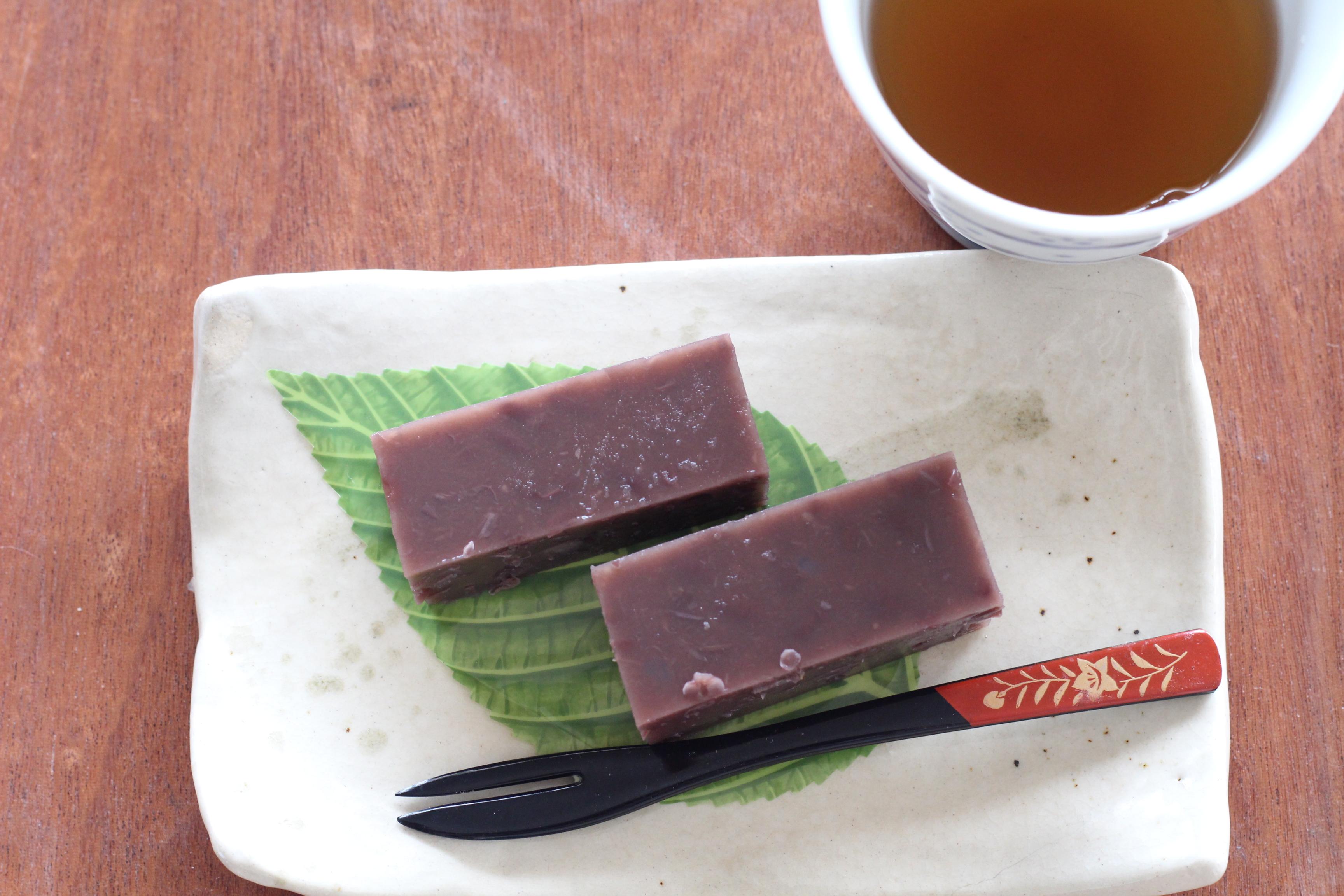 阿倍野区西田辺a-ta-sante糖質制限パン・料理教室。低糖質水羊羹。