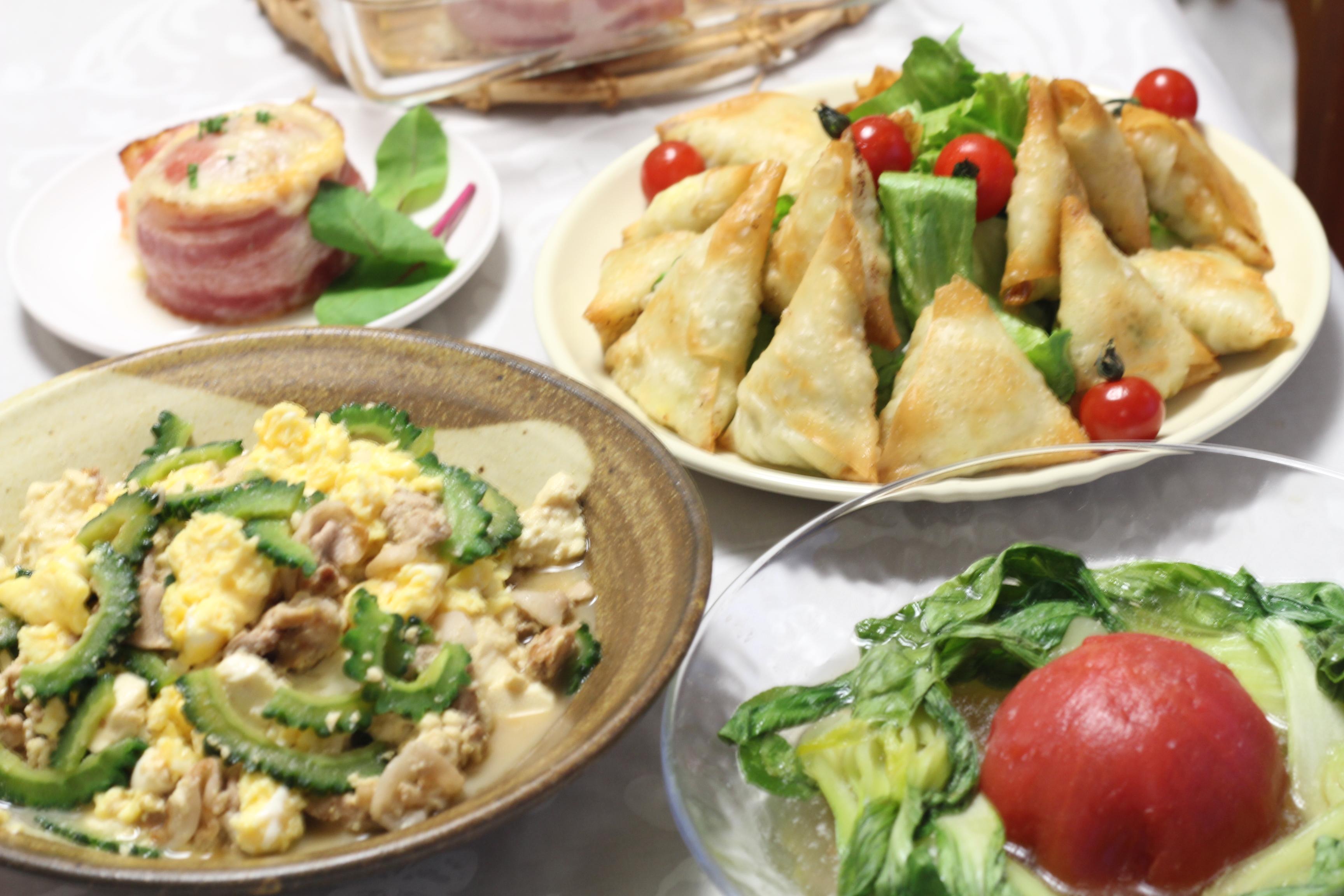 a-ta-sante糖質制限パン料理教室、阿倍野区西田辺。トマトで糖質オフのお料理。