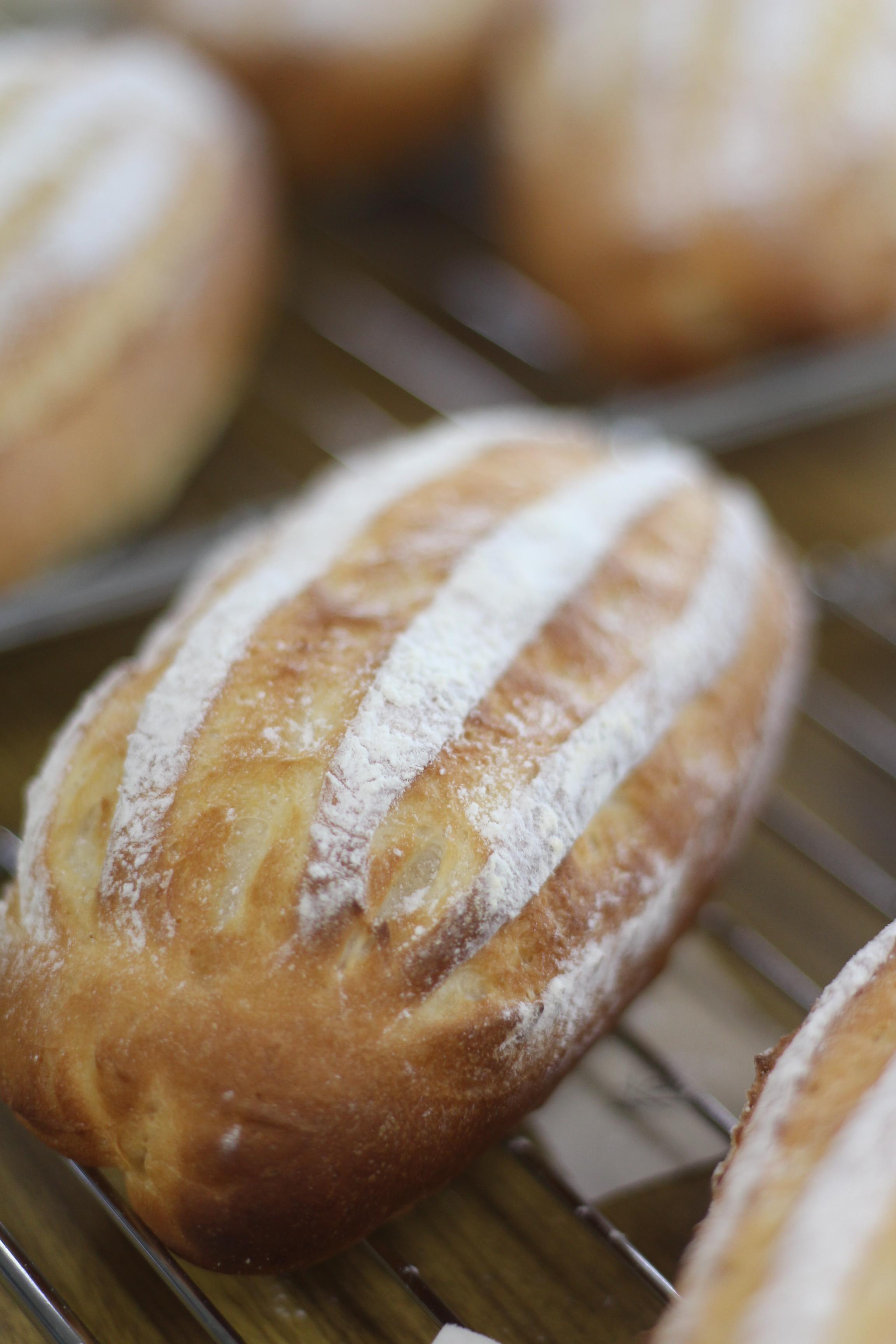 a-ta-sante糖質制限パン料理教室、阿倍野区西田辺、会館でのレッスン『セミハードブレッド』