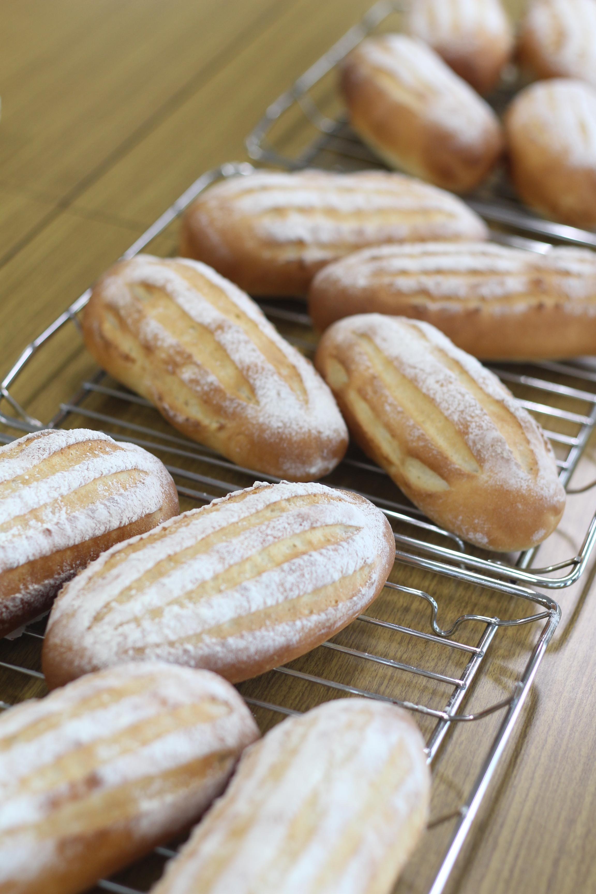 a-ta-sante糖質制限パン料理教室、阿倍野区西田辺。会館でのレッスン『セミハードブレッド』