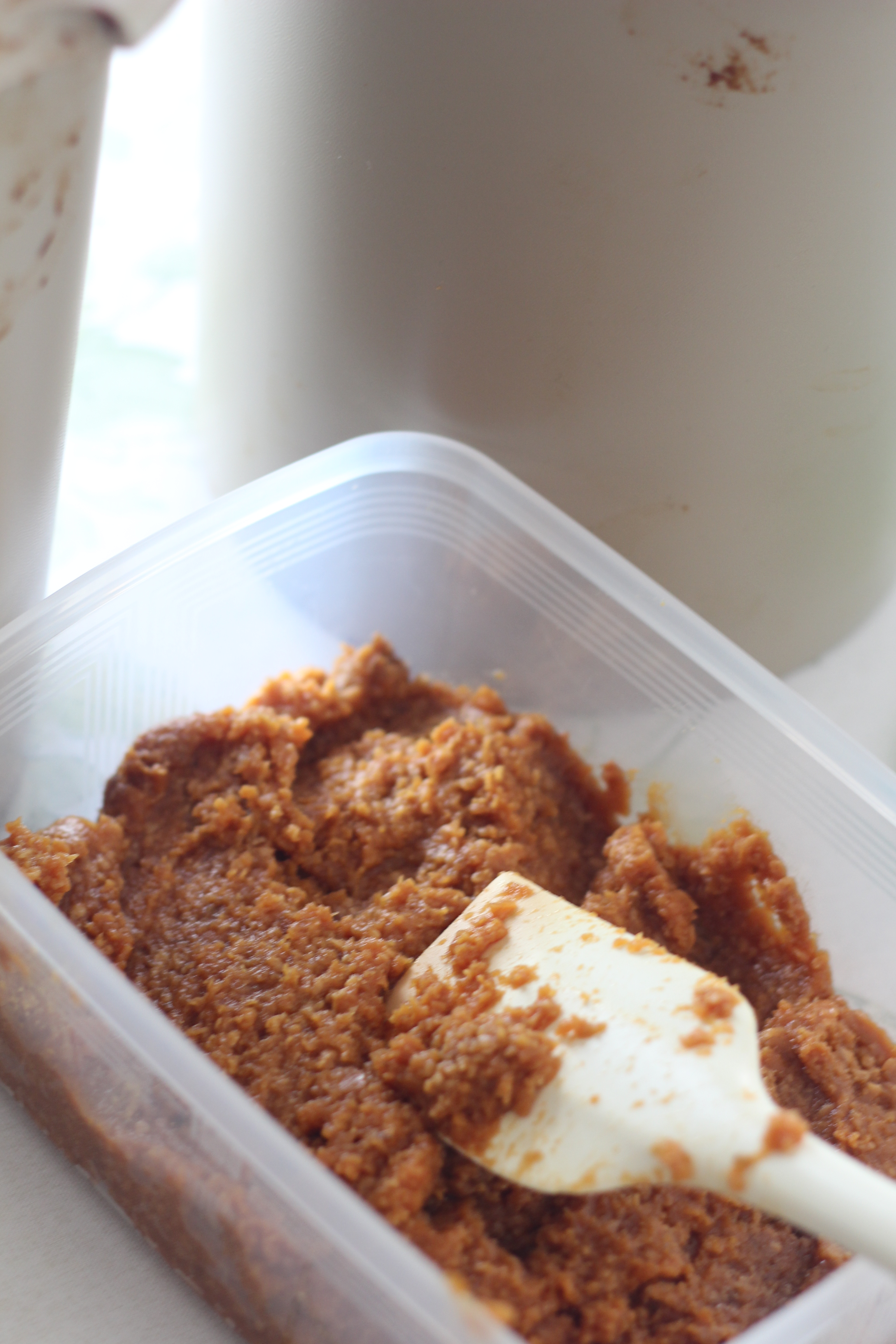 a-ta-sante糖質制限パン料理教室、阿倍野区西田辺。お味噌の小分け。