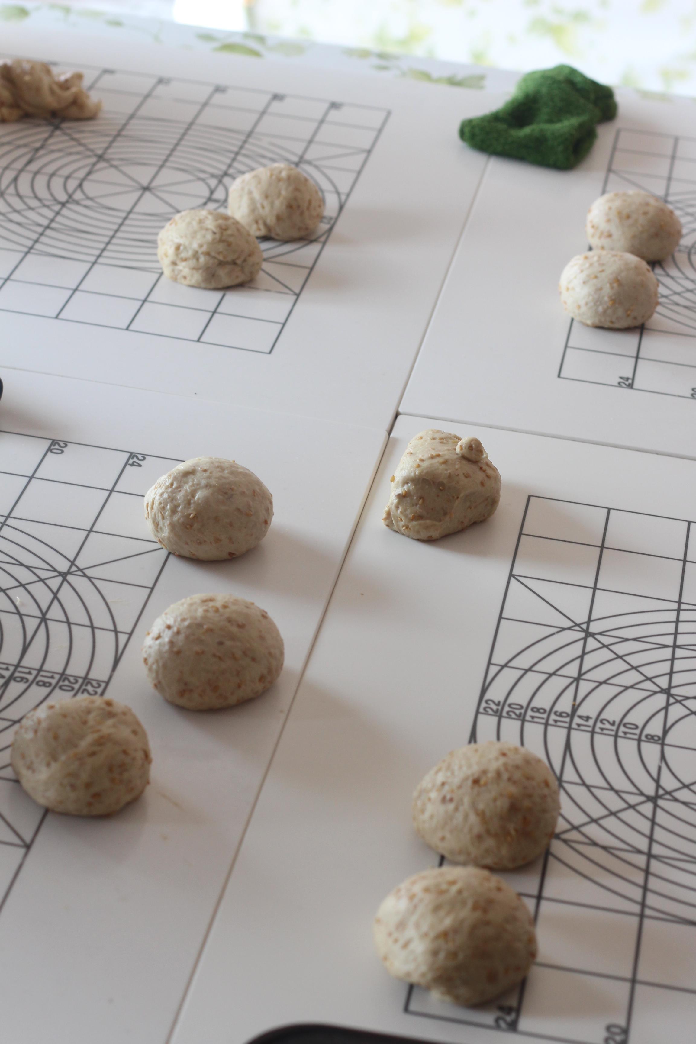 a-ta-sante糖質制限パン料理教室、京都江部粉糖質制限パンベーシックコース最終回『山食&ごまパン』