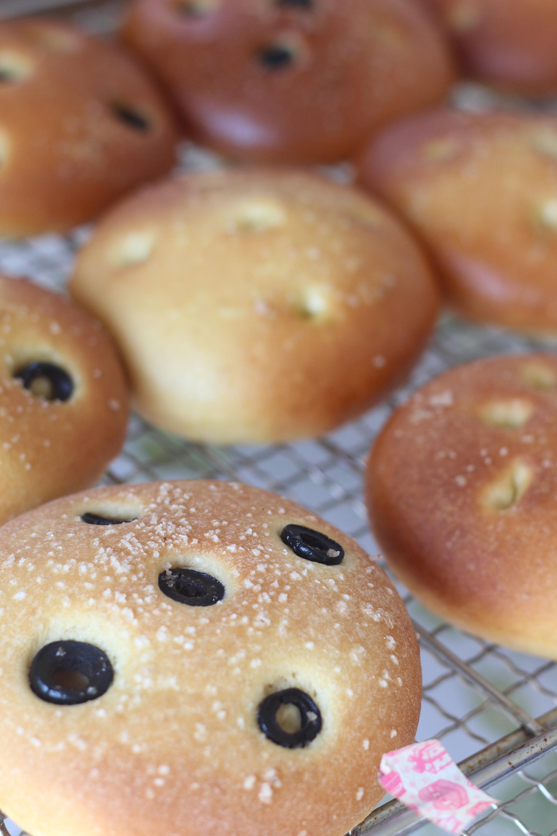 a-ta-sante糖質制限パン料理教室、京都江部粉糖質制限パンアドバンスコース『ミニクロワッサン&フォカッチャ』