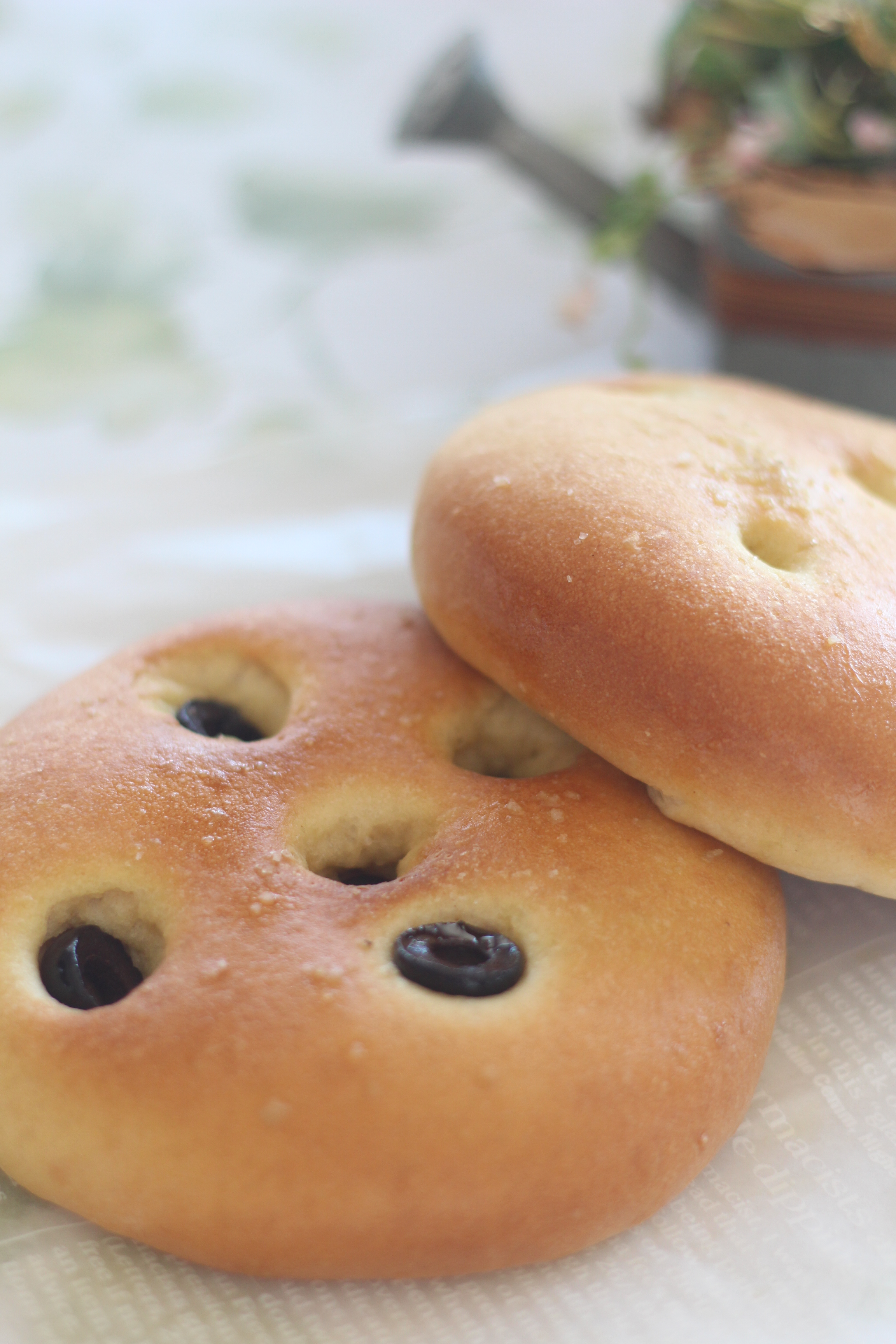 a-ta-sante 糖質制限パン料理教室。京都江部粉糖質制限パンフォカッチャのデイ上がりです。