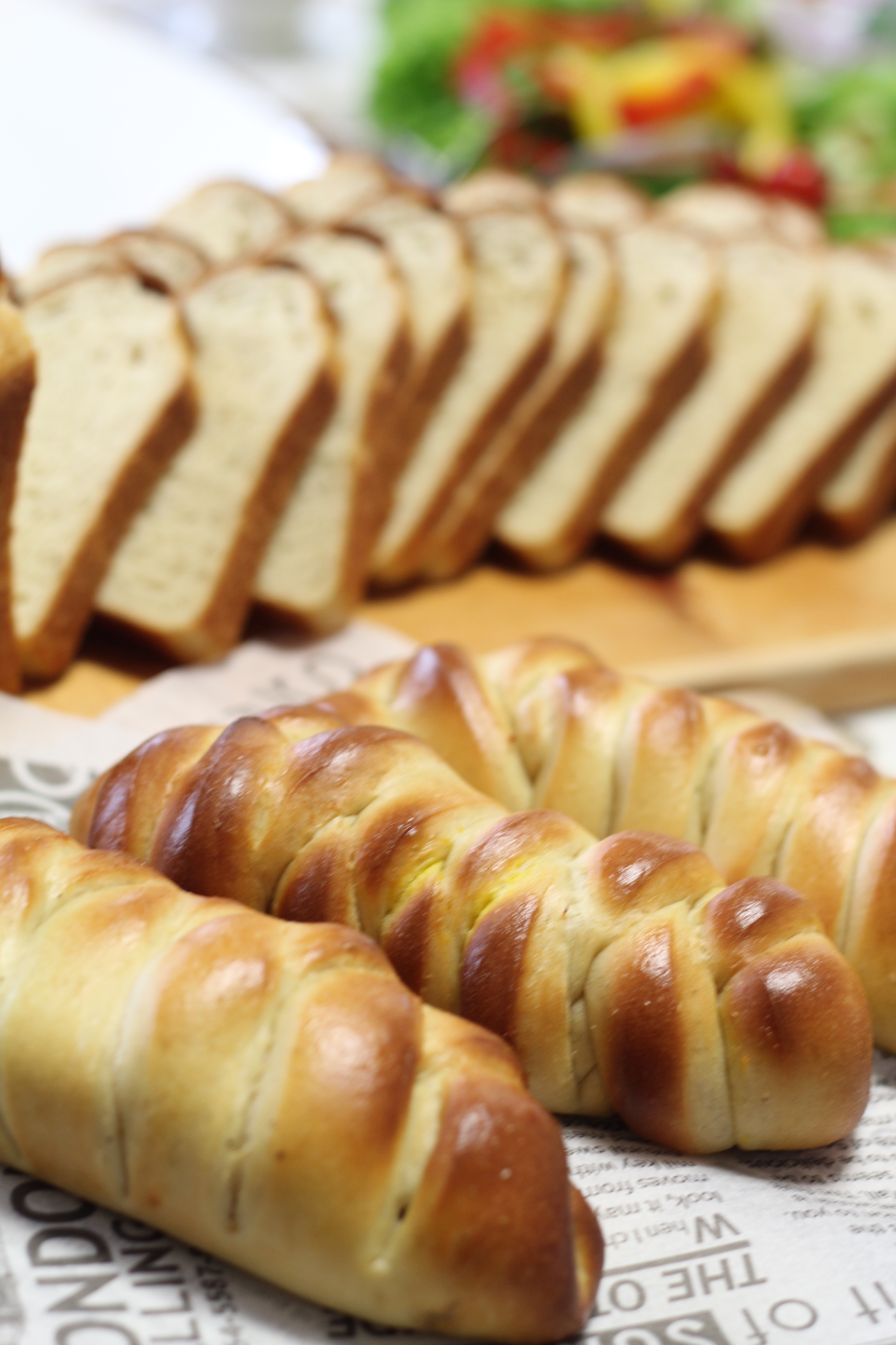 a-ta-sante糖質制限パン料理教室、京都江部粉糖質制限パンアドバンスコース3回目『変わり山食&レンチパン』