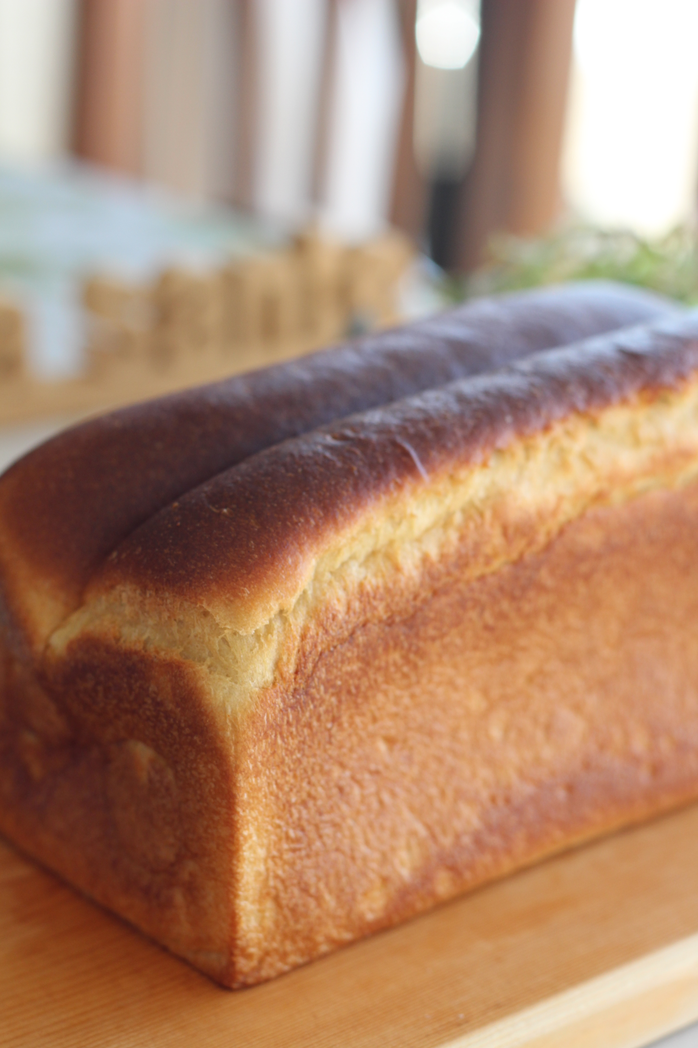 a-ta-sante糖質制限パン料理教室、阿倍野区西田辺。京都江部粉糖質制限パン変わり山食完成。