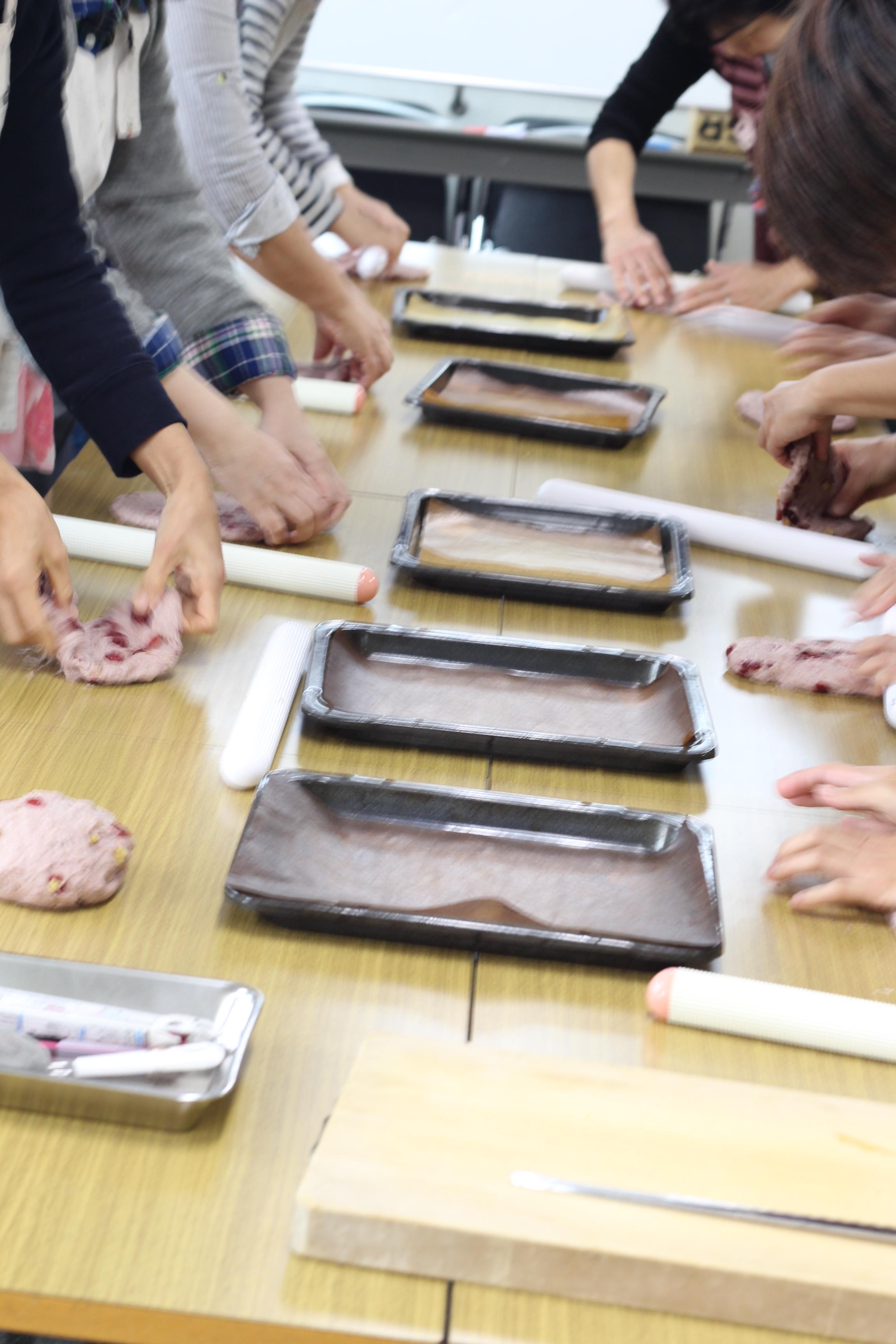 a-ta-sante糖質制限パン料理教室、阿倍野区西田辺。会館でのレッスン『ヌーヴォーブレッド』