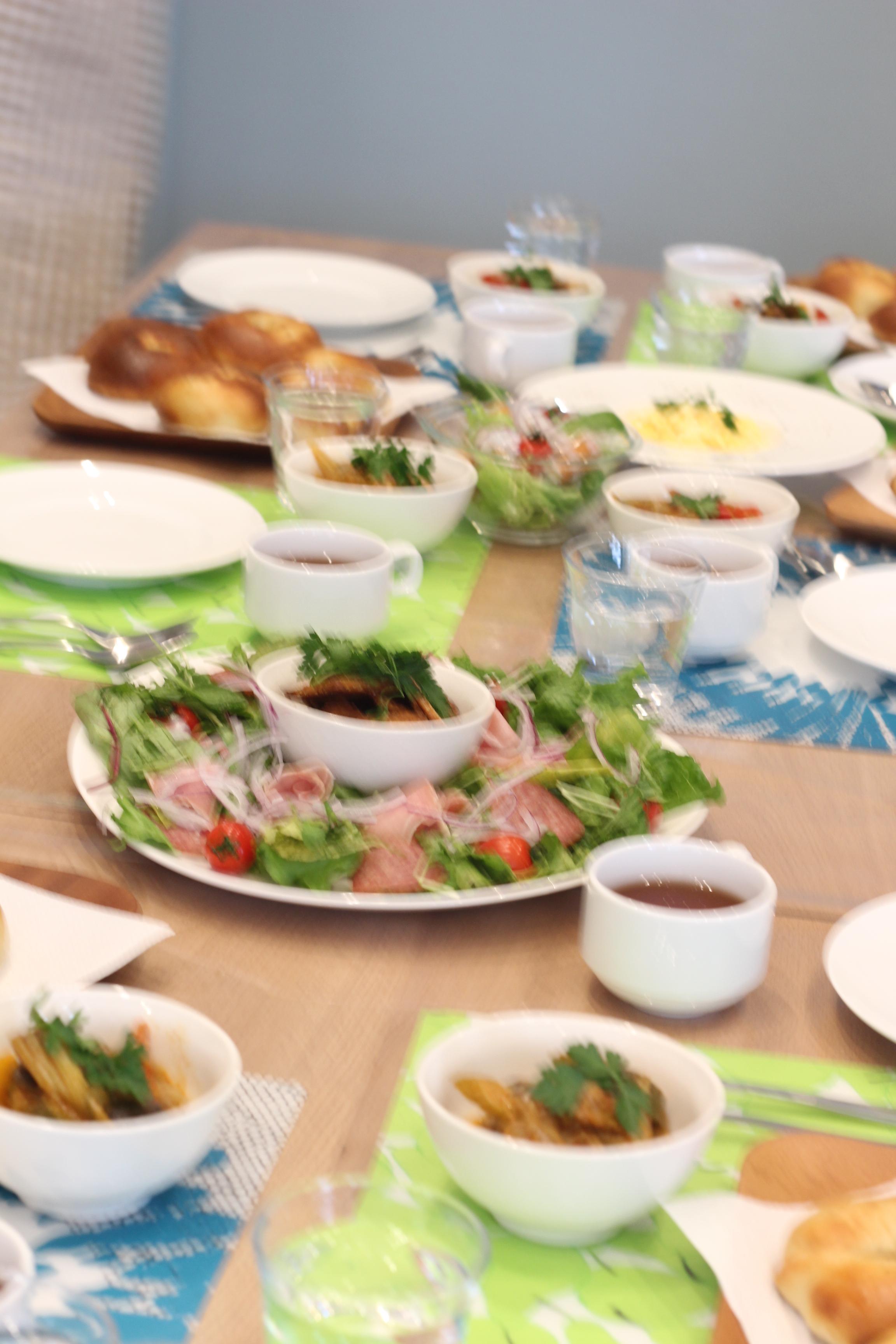 a-ta-sante糖質制限パン料理教室、京都江部粉糖質制限パンベーシックコース2回目『ベーグル&クラッカー』