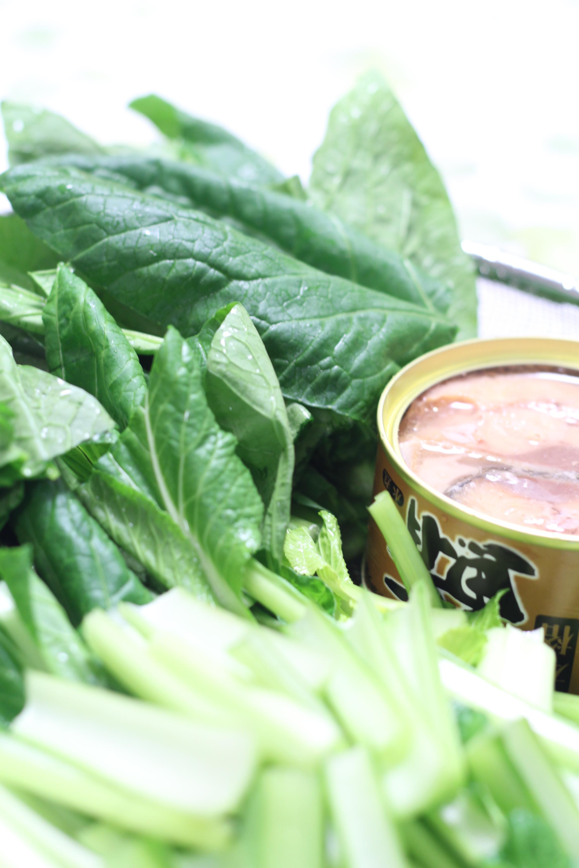 a-ta-sante糖質制限パン料理教室、阿倍野区西田辺。一人暮らしの応援レシピ『鯖缶と小松菜の5分間クッキング』