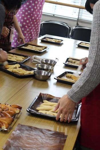 a-ta-sante糖質制限パン料理教室、阿倍野区西田辺。会館でのレッスン『ヴェックマン』2回目