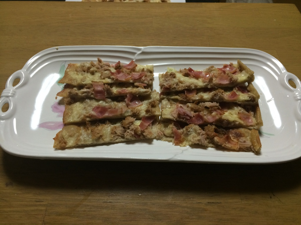 a-ta-sante糖質制限パン料理教室、阿倍野区西田辺。京都江部粉糖質制限パン、チョコマーブルデコレーションブレッド&クリスピーピザ、つくレポが届きました。