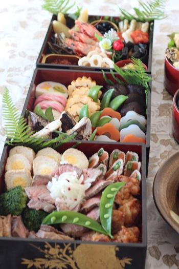 a-ta-sante糖質制限パン料理教室、阿倍野区西田辺。2016年糖質制限御節。