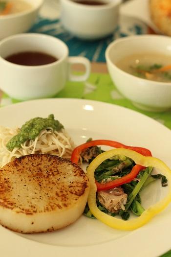 a-ta-sante糖質制限パン料理教室。京都江部粉糖質制限パンベーシックコース4回目『ひじきブレッド&ウインナーパン』