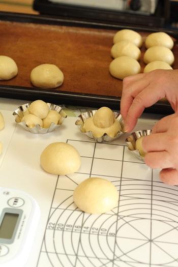 a-ta-sante糖質制限パン料理教室、阿倍野区西田辺。京都江部粉糖質制限パンアドバンスコース『ブリオッシュ&フロマージュブレッド&ワッフル』