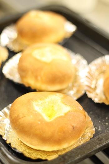 a-ta-sante糖質制限パン料理教室、阿倍野区西田辺。会館でのレッスン『湯種のバタートップブレッド』