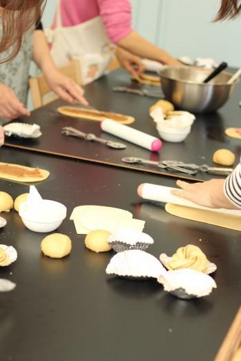 a-ta-sante糖質制限パン料理教室。京都江部粉糖質制限パンベーシックコース3回目『シナモンロール&ピタパン』