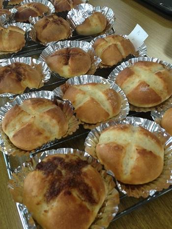 a-ta-sante糖質制限パン料理教室。会館でのレッスン『バターコッペ』
