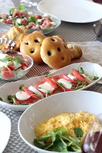 a-ta-sante糖質制限パン料理教室。京都江部粉糖質制限パン、アドバンスコース2回目『クロワッサン&フォカッチャ』