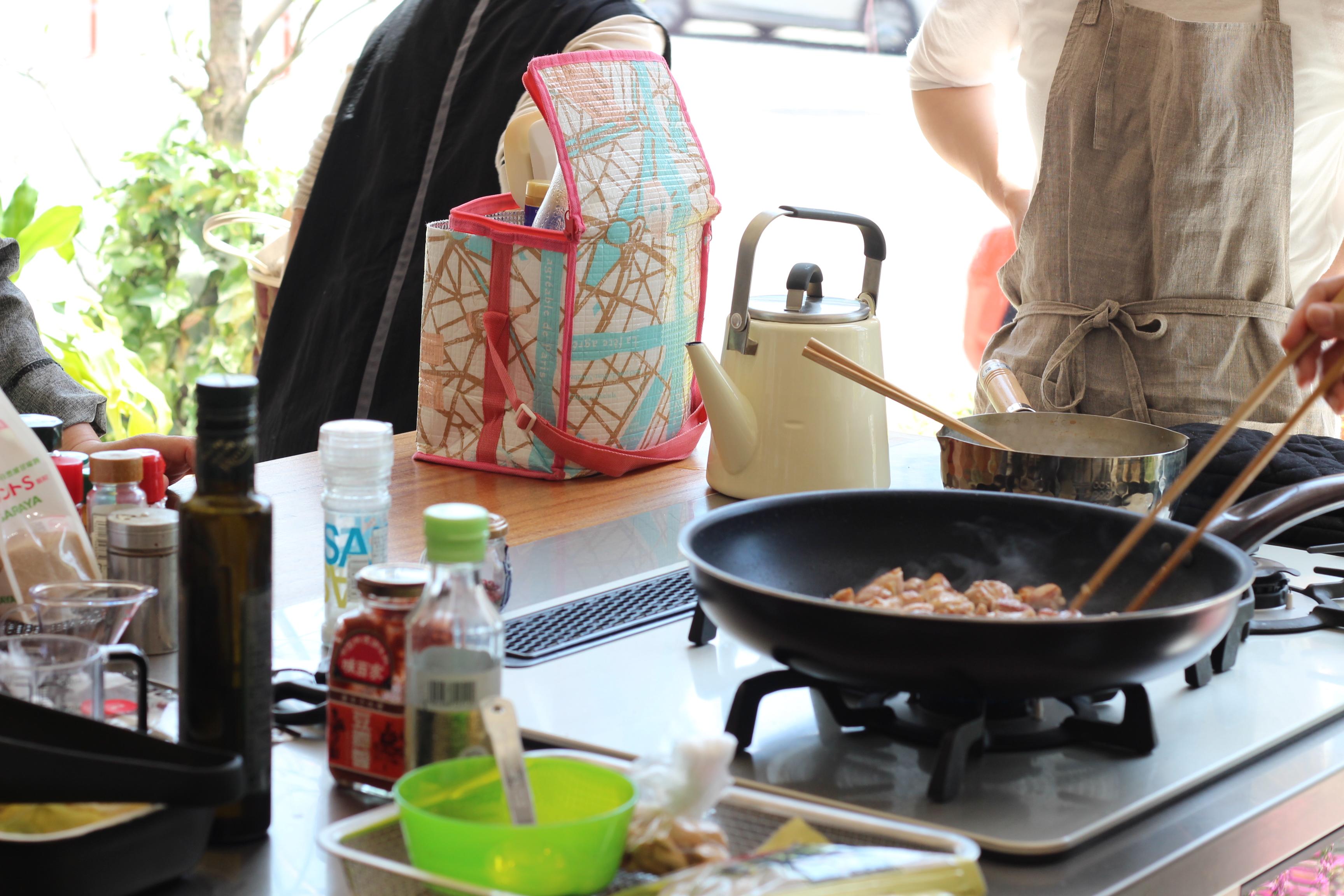 a-ta-sante糖質制限パン料理教室。『おしゃれで楽しい低糖質料理教室』4月16日最終日