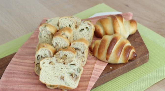 京都江部粉糖質制限パンベーシックコース『ナッツブレッド&ロールパン』