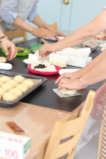 a-ta-sante糖質制限パン料理教室。京都江部粉糖質制限ベーシックコース2回目『ベーグル&クラッカー』
