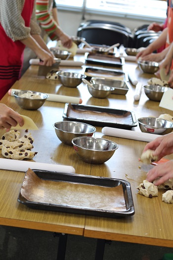 a-ta-sante糖質制限パン料理教室。会館でのレッスン『クーロンヌ』