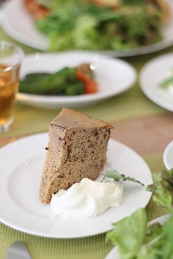 a-ta-sante糖質制限パン料理教室。京都江部粉『シフォンケーキ&ピザ』