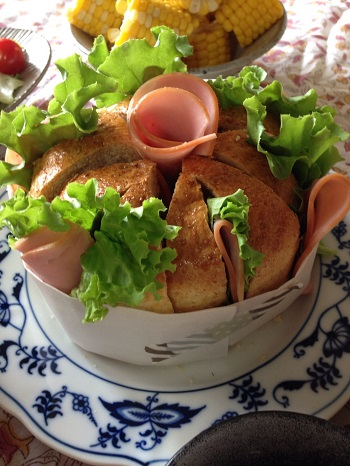 a-ta-sante糖質制限パン料理教室。会館でのレッスン『おさらい会』