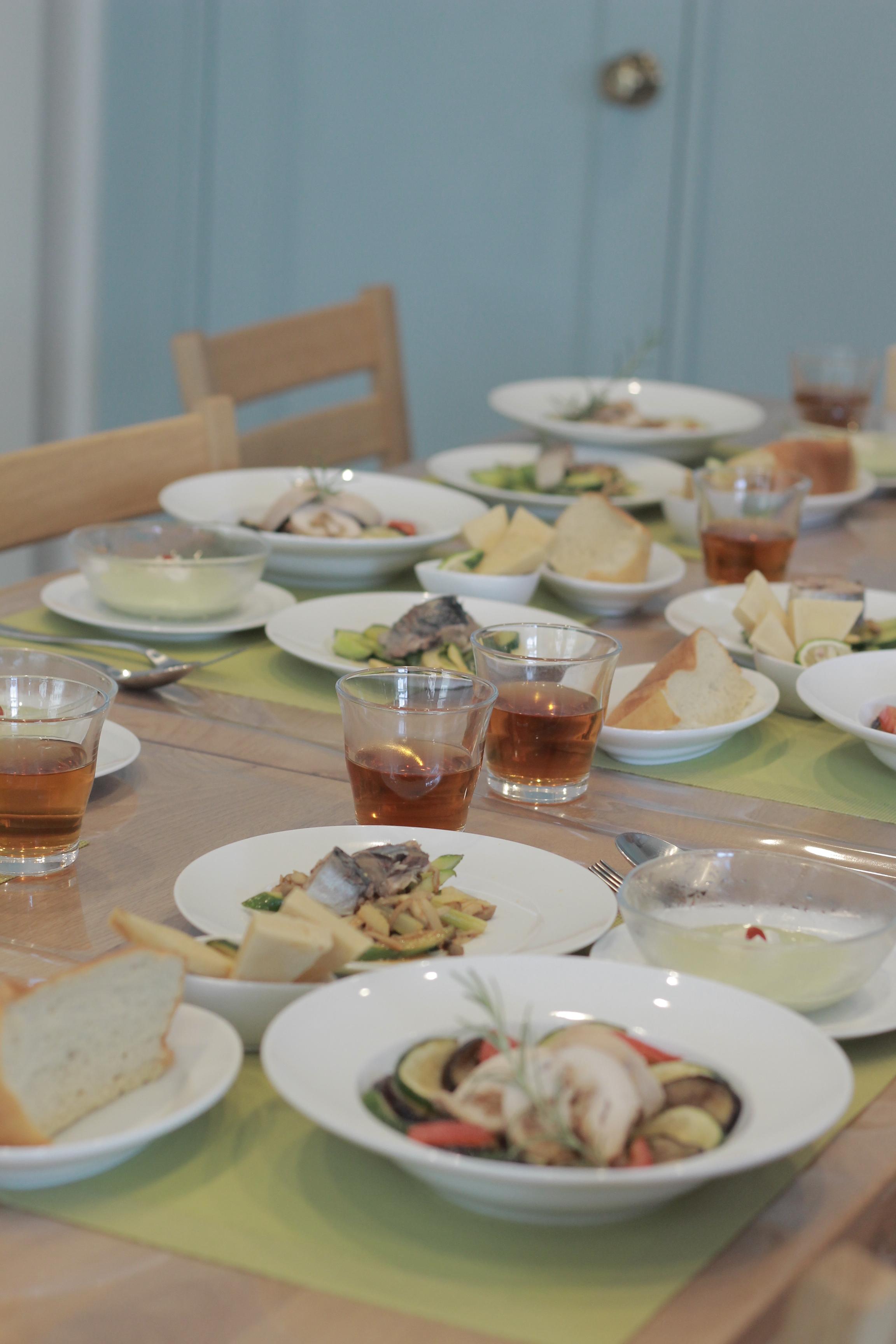 a-ta-sante糖質制限パン料理教室。糖質制限家庭料理教室3日目。