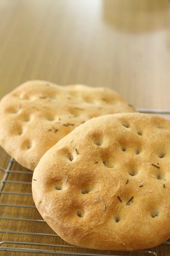 a-ta-sante糖質制限パン料理教室。9月の会館でのレッスン『田舎風フォカッチャ』