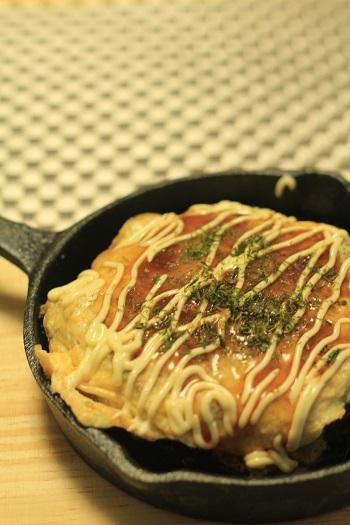 a-ta-sante糖質制限パン料理教室。糖質制限お好み焼き、京都江部粉不使用。グルテンフリーお好み焼きレシピほぼ完成。