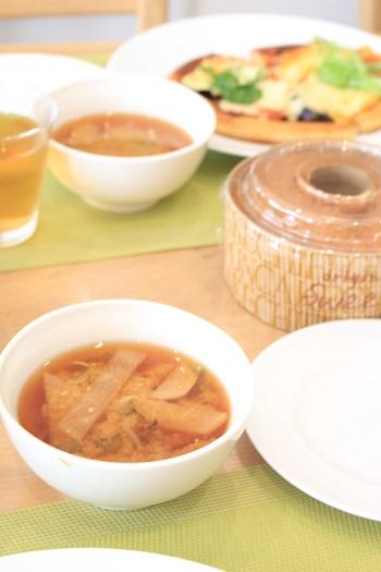 a-ta-sante糖質制限パン料理教室。京都江部粉糖質制限『シフォンケーキ&ピザ』講習会。