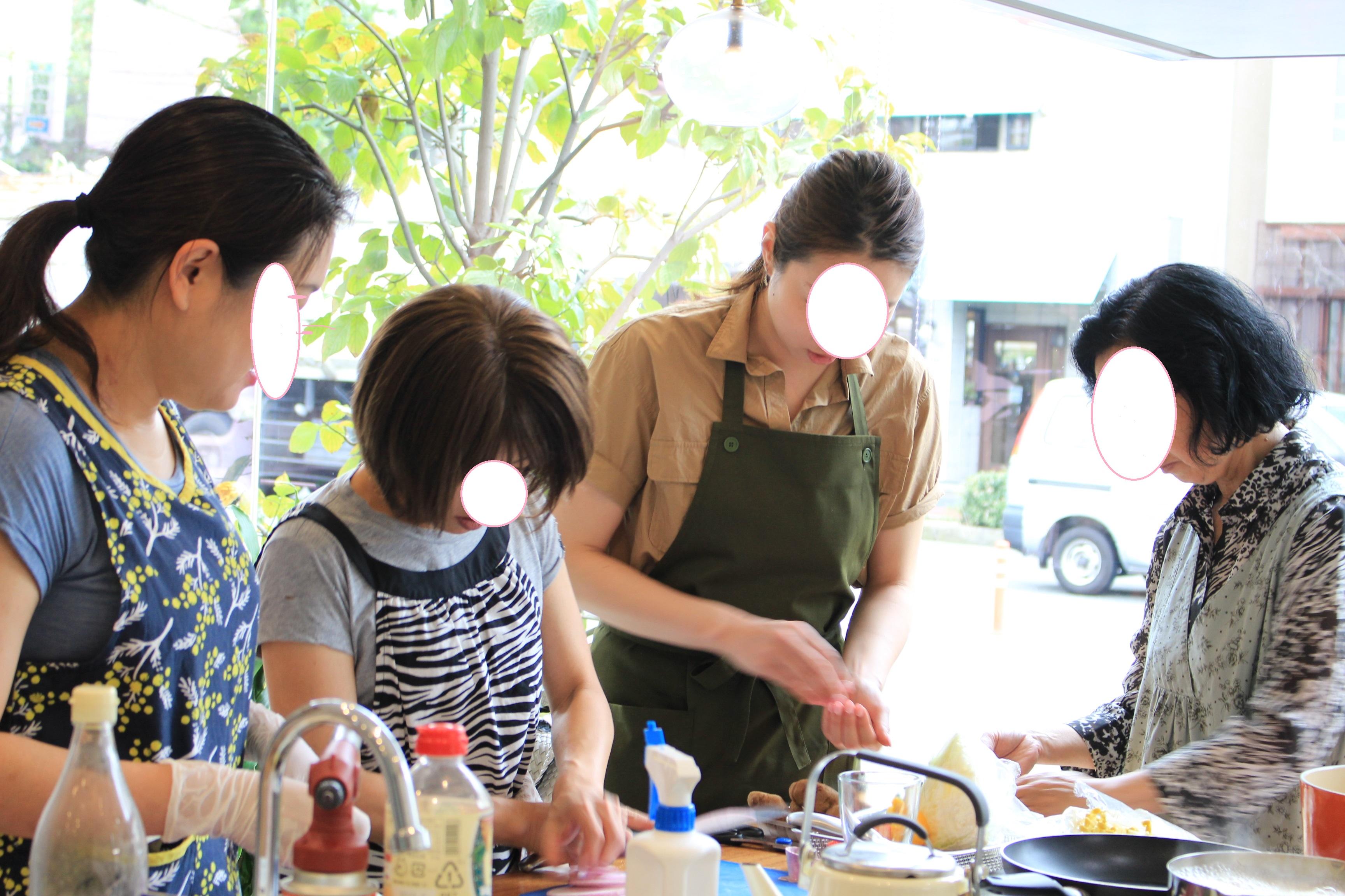 a-ta-sante糖質制限パン料理教室。10月度『糖質制限家庭料理』初日!テーマ『Rinoブレンド甘いたれ』