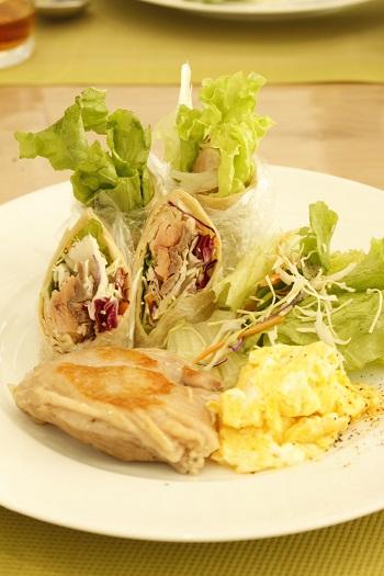 a-ta-sante糖質制限パン料理教室。京都江部粉糖質制限体験レッスン『プチパン・クルミのバタートップブレッド・トルティーヤ』