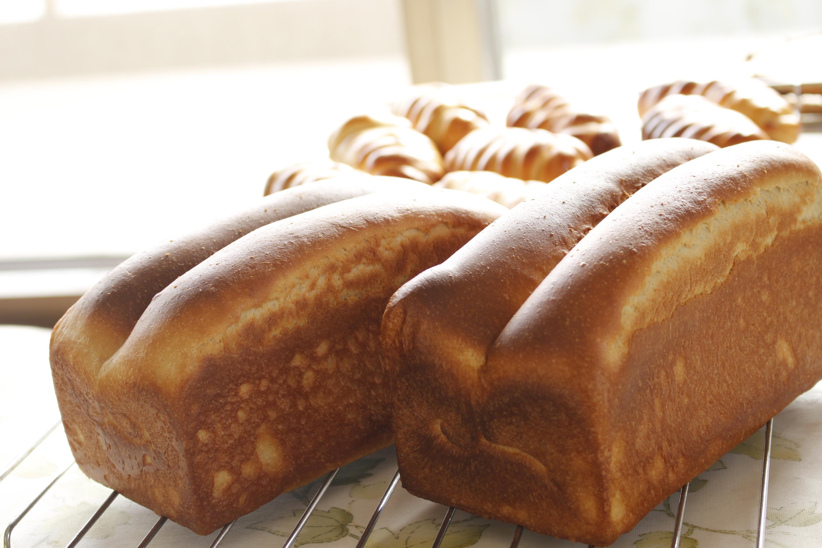 -ta-sante糖質制限パン料理教室。京都江部粉糖質制限パンアドバンスコース3回目『変わり山食&ランチブレッド