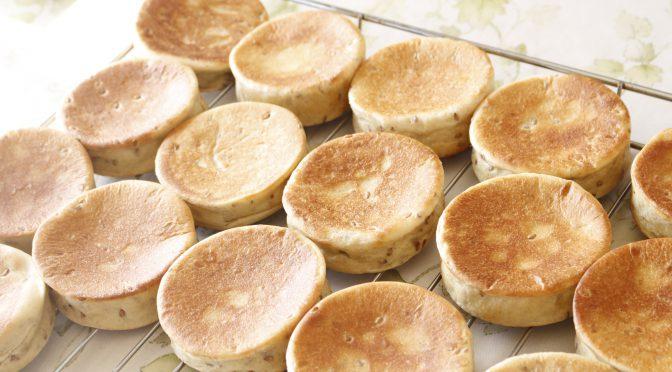 京都江部粉糖質制限パンアドバンスコース5回目『イングリッシュマフィン&マラサダ』