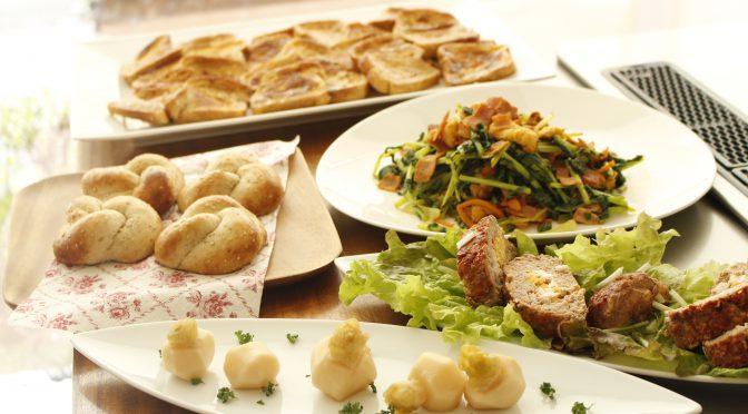 a-ta-sante糖質制限パン料理教室。京都江部粉糖質制限パンベーシックコース6回目『山食&ごまパン&フレンチトースト』