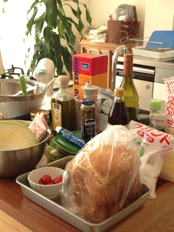 a-ta-sante糖質制限パン料理教室。12月糖質制限家庭料理初日。『グルテンフリーのXmasパーティー料理』
